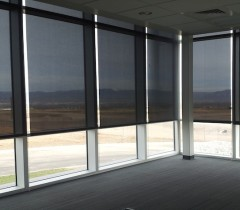 Mechoshade Electroshade 174 System Commercial Drapes And Blinds